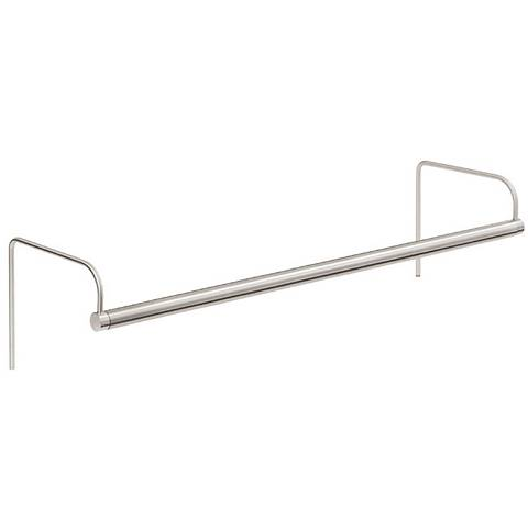"""House of Troy 30"""" Wide Satin Nickel Plug-in Picture Light"""