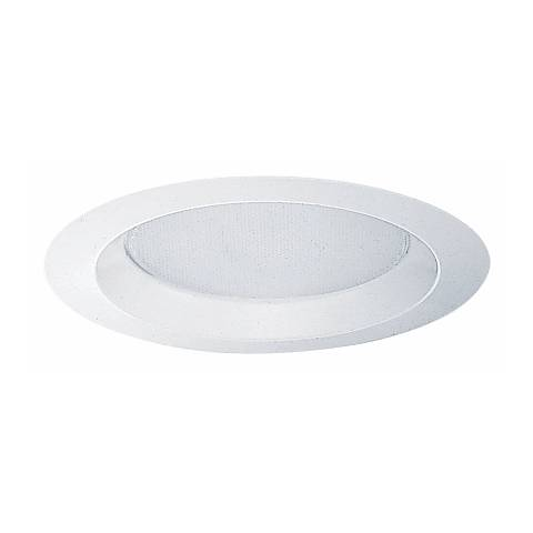 "Juno 6"" Albalite Lens Shower Recessed Light Trim"