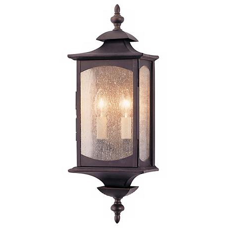 """Feiss Market Square 19"""" High Outdoor Wall Light"""