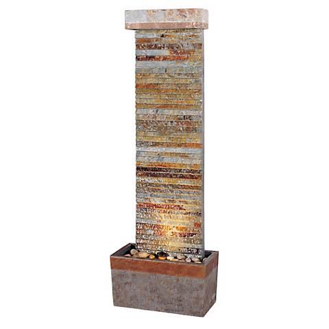 "Tacora Collection Horizontal 49"" High Stone Fountain"