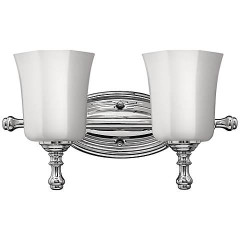 Bathroom Light Fixtures Chrome: Hinkley Shelly 16