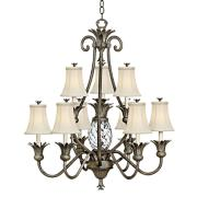 """Hinkley Plantation Collection 33"""" Wide Two Tier Chandelier"""