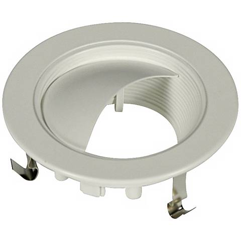 "4"" Line Voltage Wall Washer Recessed Light Trim"