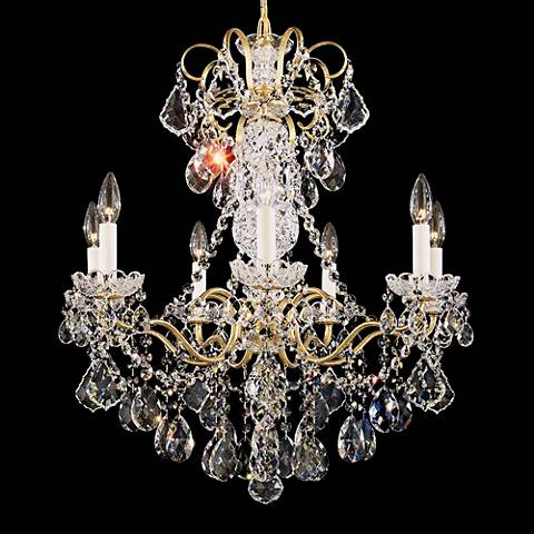 "Schonbek New Orleans Collection 24"" Wide Crystal Chandelier"