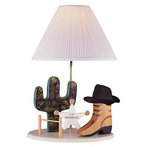 Lite Source Cowboy Table Lamp
