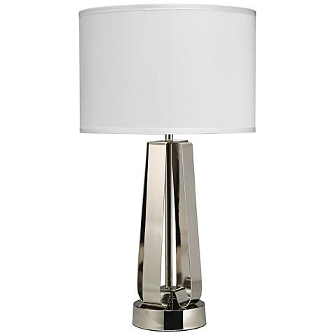 Jamie Young Nickel Strap Table Lamp