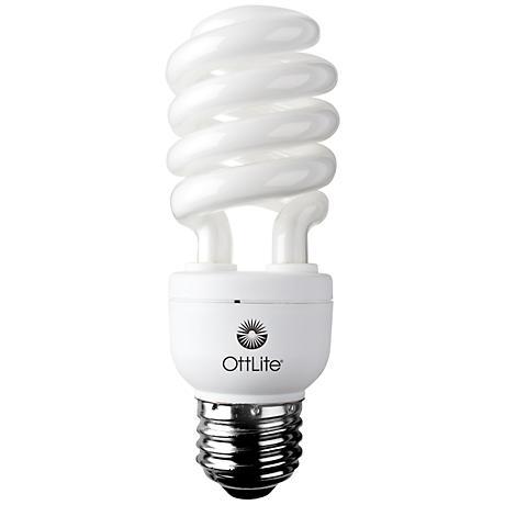 OTT-LITE 15 Watt CFL Natural Daylight Reading Bulb