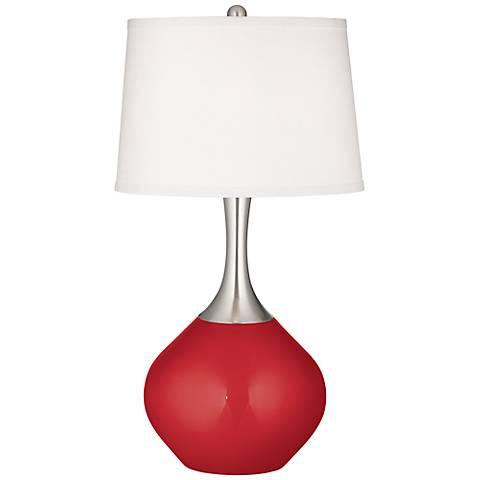 Sangria Metallic Spencer Table Lamp