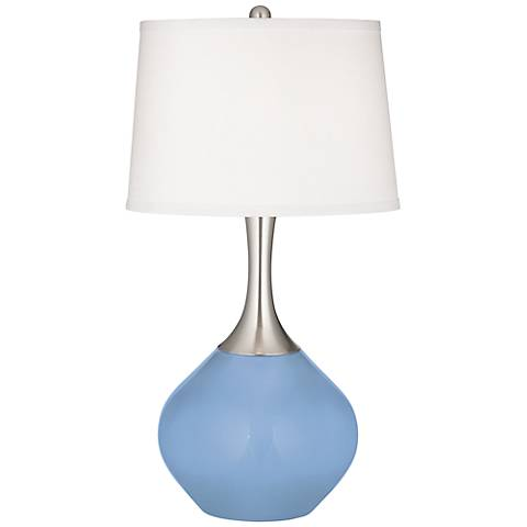 Placid Blue Spencer Table Lamp
