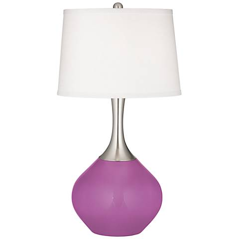 Pink Orchid Spencer Table Lamp