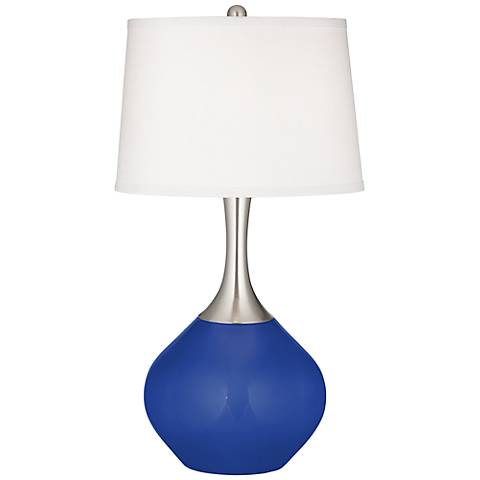 Dazzling Blue Spencer Table Lamp