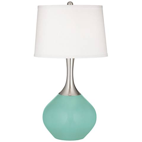 Rapture Blue Spencer Table Lamp