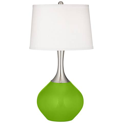 Neon Green Spencer Table Lamp