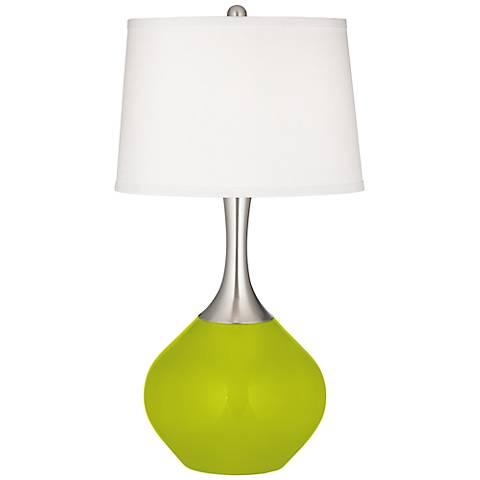 Pastel Green Spencer Table Lamp