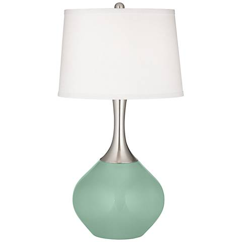 Grayed Jade Spencer Table Lamp