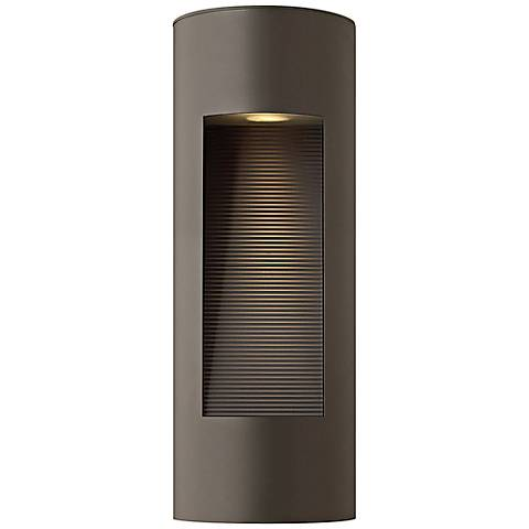 "Hinkley Luna 16"" High LED Bronze Outdoor Wall Light"