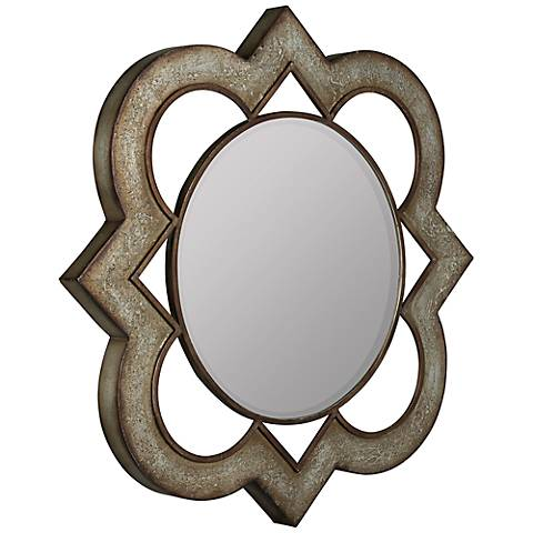 "Cooper Classics Winta 31 3/4""x31 3/4"" Metal Wall Mirror"
