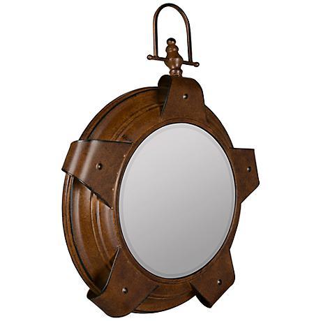 """Cooper Classics Lolek Copper 16 1/2""""x22 1/2"""" Mirror"""
