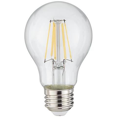 Clear 8 Watt Dimmable A19 LED Filament Light Bulb