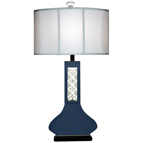 hookah blue large table lamp   7d203 lamps plus
