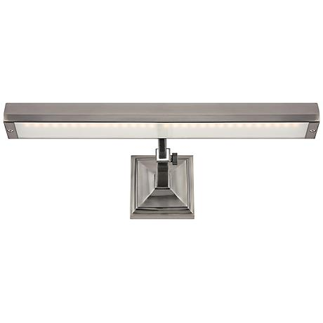 """WAC Hemmingway Antique Nickel 24"""" Wide LED Picture Light"""