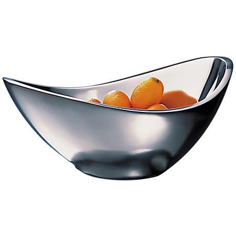 Nambe Butterfly 2-Quart Alloy Metal Serving Bowl