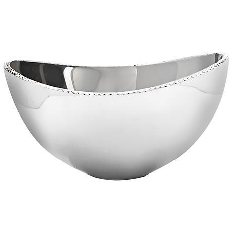 Nambe Braid Alloy Metal Medium Serving Bowl