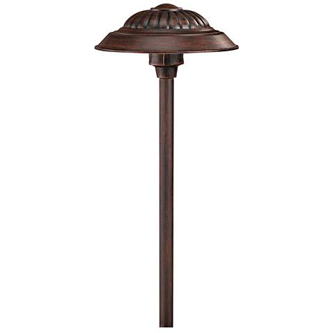Hinkley Saucer Clay Outdoor LED Low Voltage Path Light