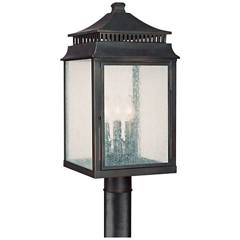 "Capital Sutter Creek 22"" High Bronze Outdoor Post Light"
