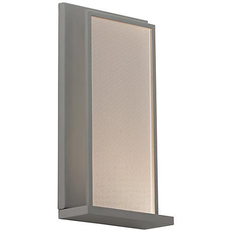 "Tech Lighting Istra 11 1/2"" Tall Gray LED Wall Sconce"