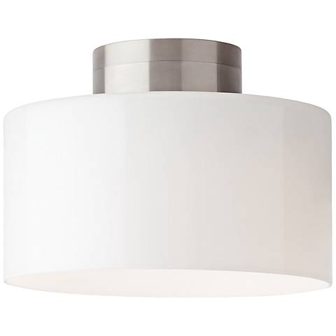 "Tech Lighting Manette 11"" Wide White LED Ceiling Light"