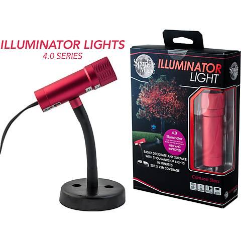 Illuminator Crimson Star Red Indoor-Outdoor Laser Light