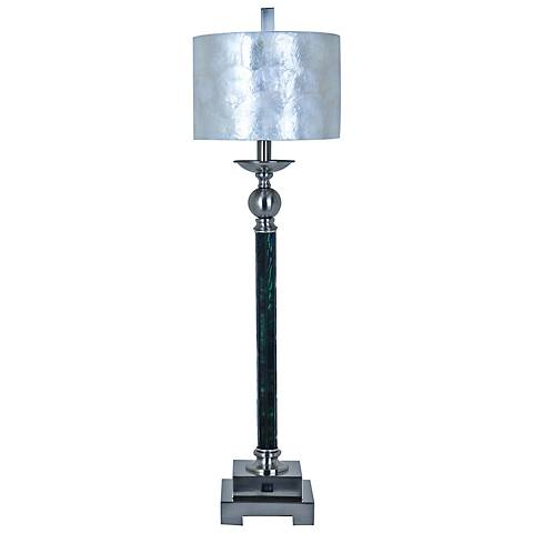 Crestview Collection Luxe Capiz Tall Buffet Table Lamp
