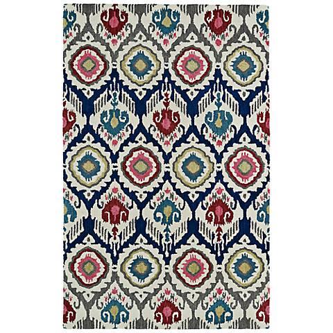 Kaleen Global Inspirations GLB04-86 Multi-Color Wool Rug