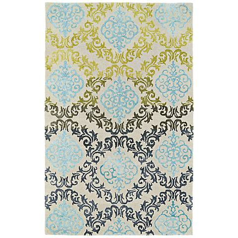 Kaleen Divine DIV04-86 Multi-Color Wool Area Rug