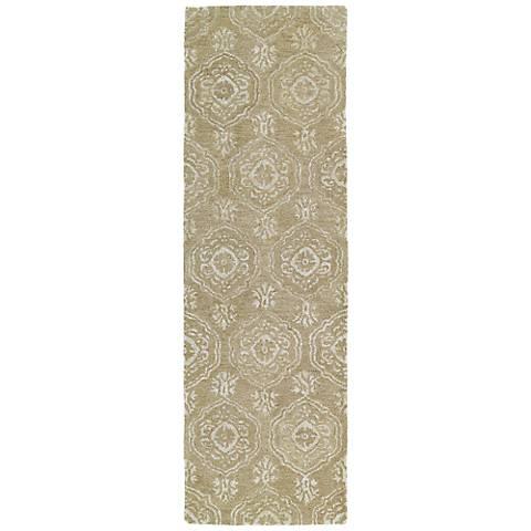 Kaleen Divine DIV07-82 Light Brown Wool Area Rug