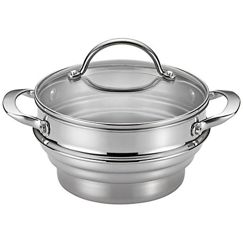 Anolon Classic Stainless Steel Universal Covered Steamer