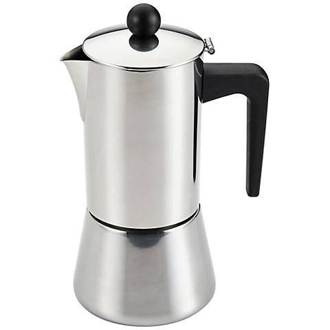 BonJour Coffee and Tea 6-Cup Stovetop Espresso Maker