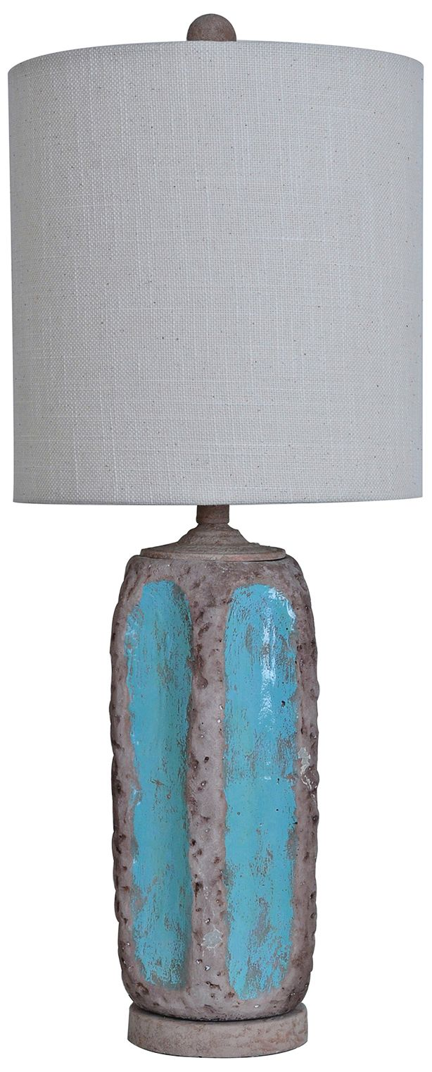 Crestview Collection Flagstone Ceramic Tall Table Lamp