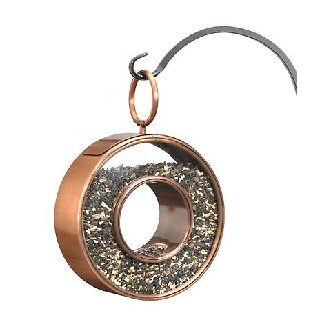 Good Directions Fly-Thru Venetian Bronze Bird Feeder