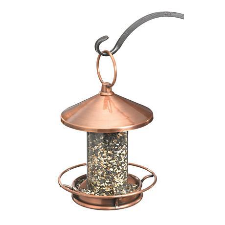 Good Directions Classic Perch Venetian Bronze Bird Feeder