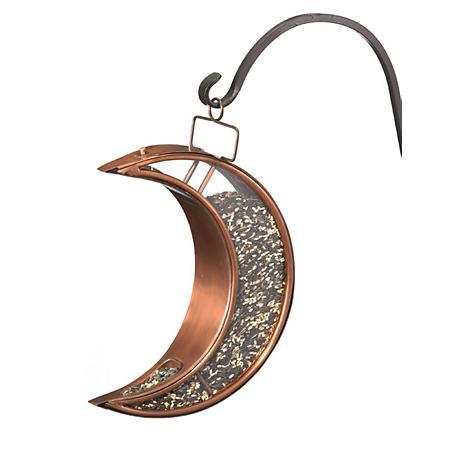 Good Directions Crescent Moon Venetian Bronze Bird Feeder