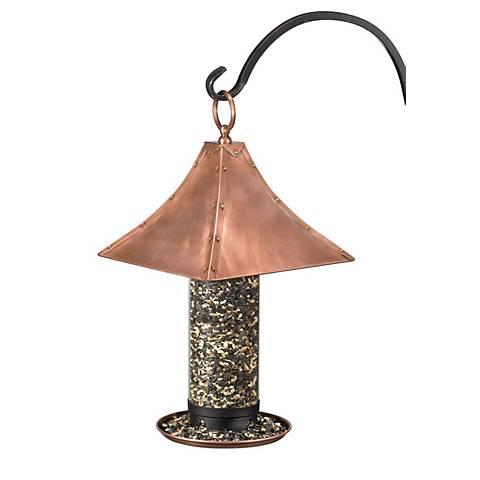 Good Directions Castella Large Copper Bird Feeder