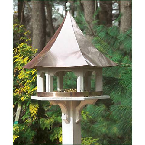 Good Directions Lazy Hill Carousel Copper Bird Feeder