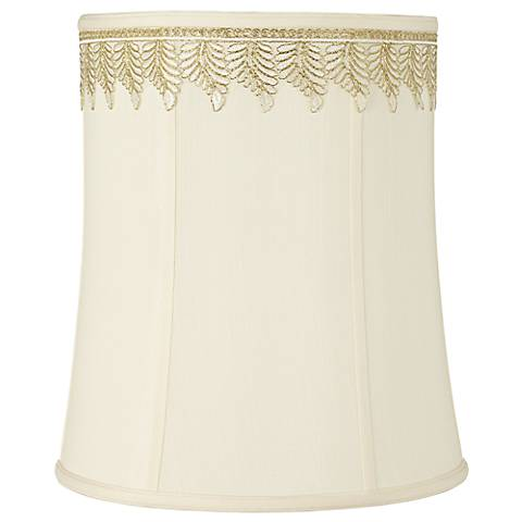 Deep Shade with Embroidered Leaf Trim 12x14x16 (Spider)