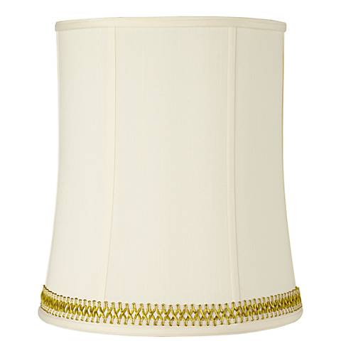 Deep Shade with Gold Satin Weave Trim 12x14x16 (Spider)