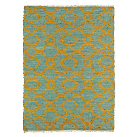 Kaleen Casablanca Cas02 17 Blue Wool Area Rug 4n883