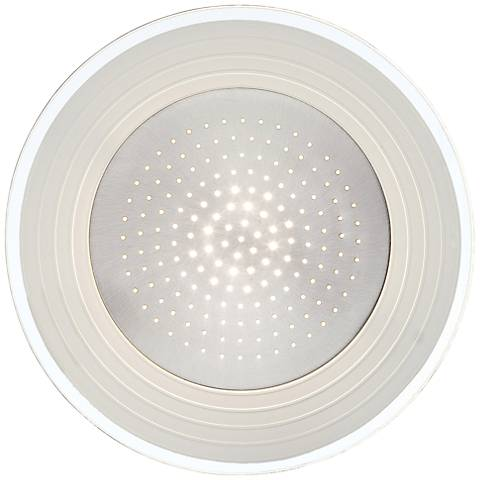 """Lite Source Flynn LED 11"""" High Round Steel Wall Sconce"""