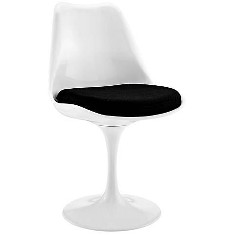 Lippa Modern Black Dining Side Chair