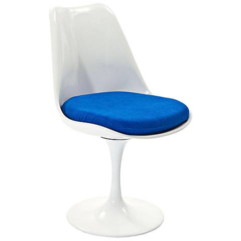 Lippa Modern Blue Dining Side Chair